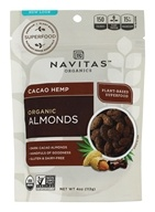 Navitas Naturals - Organic Superfood + Cacao Hemp Almonds - 4 oz.