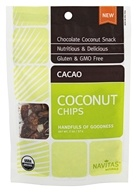 Navitas Naturals - Organic Coconut Chips Cacao - 2 oz.