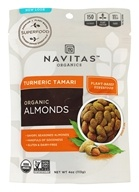 Navitas Naturals - Organic Superfood + Turmeric Tamari Almonds - 4 oz.