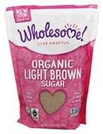 Wholesome! - Organic Light Brown Sugar - 1.5 lbs.