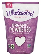 Wholesome! - Organic Powdered Confectioners Sugar - 1 lb.