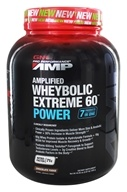 GNC - Pro Performance AMP Amplified Wheybolic Extreme 60 Power Chocolate Fudge - 2.87 lbs.
