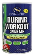 Natural Sport - During Workout Drink Mix Tropical Fusion - 1078 Grams