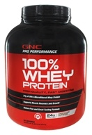 GNC - Pro Performance 100% Whey Protein Chocolate Supreme - 5.01 lbs.