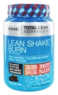 GNC - Total Lean Advanced Lean Shake Burn Chocolate Fudge - 1.67 lbs.