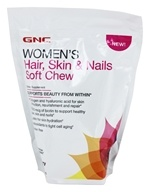 GNC - Women's Hair, Skin & Nails Soft Chews Acai Berry - 60 Soft Chews