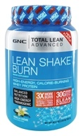 GNC - Total Lean Advanced Lean Shake Burn Vanilla Creme - 1.63 lbs.