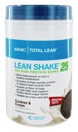 GNC - Total Lean Lean Shake 25 Cookies & Cream - 1.83 lbs.