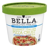 Bella Gluten Free - Gourmet Italian Pizza Crust Mix - 6.6 oz.