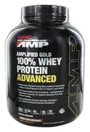 GNC - Pro Performance Amplified Gold 100% Whey Protein Advanced Double Rich Chocolate - 5.12 lbs.