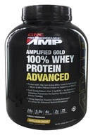 GNC - Pro Performance Amplified Gold 100% Whey Protein Advanced Vanilla Ice Cream - 4.9 lbs.