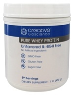 Creative BioScience - Pure Whey Protein Unflavored - 1 lb.