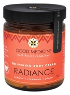 Good Medicine - Enlivening Body Cream Radiance - 9 oz.