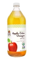 LuckyEats - Organic Raw Apple Cider Vinegar with Mother by LuckyVitamin - 32 oz.