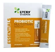 LuckyVitamin - Probiotic Multi Strain Unflavored 100 Billion CFU - 20 Packet(s)