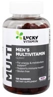 LuckyVitamin - Men's Multivitamin Gummy Berry - 120 Gummies