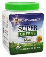 Sunwarrior - Ormus Super Greens Mint - 8 oz.