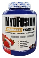 Gaspari Nutrition - MyoFusion Advanced Protein Strawberries & Cream - 4 lbs.