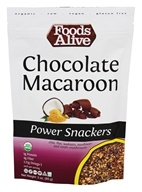 Foods Alive - Power Snackers Chocolate Macaroon - 3 oz.