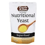 Foods Alive - Non-Synthetic Nutritional Yeast - 6 oz.