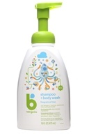 BabyGanics - Foaming Shampoo + Body Wash Fragrance Free - 16 oz.