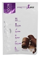 PrettyFit - All-Natural Whey Protein Isolate Powder Natural Chocolate - 1 oz.