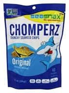 SeaSnax - Chomperz Crunchy Seaweed Chips Original - 1 oz.
