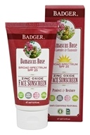 Badger - Damascus Rose SPF 25 Face Sunscreen - 1.6 oz.