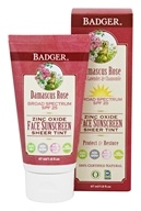 Badger - Damascus Rose SPF 25 Sheer Tint Face Sunscreen - 1.6 oz.