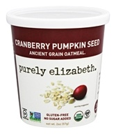 Purely Elizabeth - Organic Ancient Grain Oatmeal Cranberry Pumpkin Seed - 2 oz.