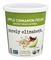 Purely Elizabeth - Organic Ancient Grain Oatmeal Apple Cinnamon Pecan - 2 oz.