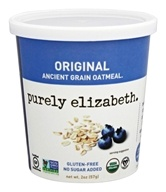 Purely Elizabeth - Organic Ancient Grain Oatmeal Original - 2 oz.