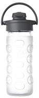 Lifefactory - Glass Bottle with Flip Cap and Silicone Sleeve Clear - 12 oz.