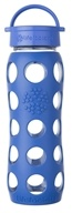 Lifefactory - Glass Bottle with Classic Cap and Silicone Sleeve Cobalt - 22 oz.