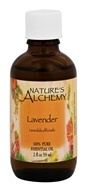 Nature's Alchemy - 100% Pure Essential Oil Lavender - 2 oz.