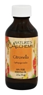 Nature's Alchemy - 100% Pure Essential Oil Citronella - 2 oz.