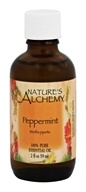 Nature's Alchemy - 100% Pure Essential Oil Peppermint - 2 oz.