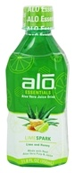 ALO - Essentials Aloe Vera Juice Drink Lime Spark - 11.8 oz.