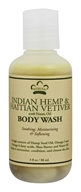 Nubian Heritage - Body Wash Indian Hemp & Haitian Vetiver  - 3 oz.