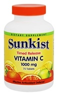Sunkist - Vitamin C Timed Release 1000 mg. - 75 Tablets