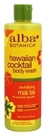 Alba Botanica - Hawaiian Cocktail Body Wash Revitalizing Mai Tai - 12 oz.