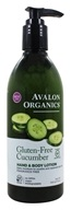 Avalon Organics - Hand & Body Lotion Gluten-Free Cucumber - 12 oz.
