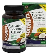 Nature's Answer - Coconutz Activated Coconut Charcoal - 60 Softgels
