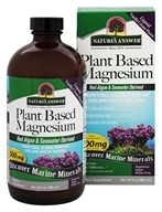 Nature's Answer - Plant Based Magnesium Liquid Vanilla Cream 500 mg. - 16 oz.