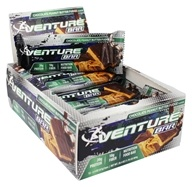 Venture Bar - Nutrition Food Bar Chocolate Peanut Butter Fudge - 12 Bars