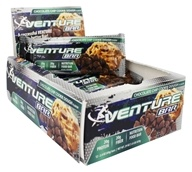 Venture Bar - Nutrition Food Bar Chocolate Chip Cookie Dough - 12 Bars