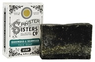 Spinster Sisters Co. - All Natural Handcrafted Face Bar Soap Oakmoss & Seaweed - 4.8 oz.