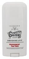 Spinster Sisters Co. - All Natural Handcrafted Deodorant Peppermint Tea Tree - 3.2 oz.