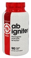 Top Secret Nutrition - Ab Igniter Thermogenic Multi-Path Fat Burner - 90 Vegetarian Capsules