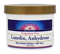 Heritage - Lanolin, Anhydrous Fragrance Free - 4 oz.